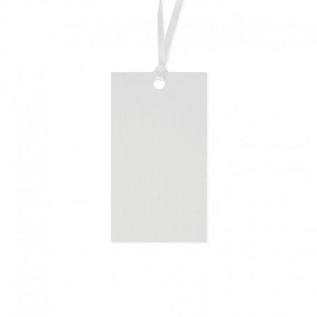 10 Tarjetas con Cordel para Nombre 4,5 x 8,7 cm