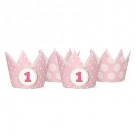 4 Coronas Infantiles con Nº1