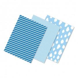 6 Mantelitos Individuales Azules 40 x 30 cm Varios Diseños