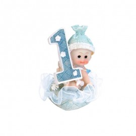 Figura de Niño Primer Año 7 cm