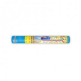 Canhão Confete de Serpentinas Cores Mates 40 cm