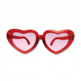 Gafas Retro forma Corazon 13 cm