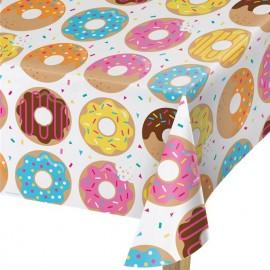 Toalha de Mesa Donut Time 274 x 137 cm