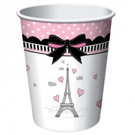 8 Vasos Paris 266 ml