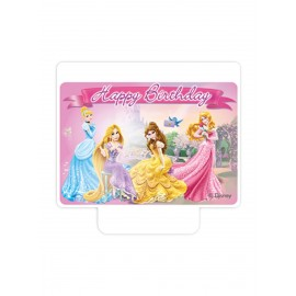 Vela Feliz Cumpleaños Disney Princess