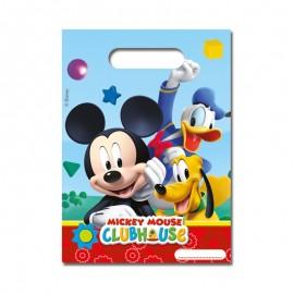 6 Bolsitas para Dulces Mickey Mouse