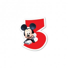 Vela nº3 Mickey Mouse
