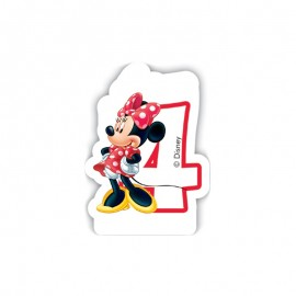 Vela nº4 Minnie Mouse