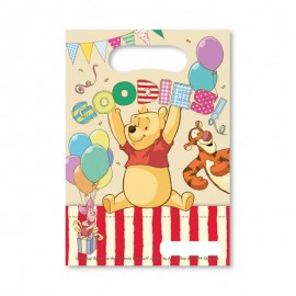 6 Bolsitas para Caramelos Winnie the Pooh