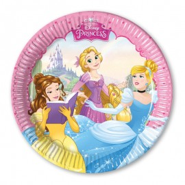 8 Platos Princesas Dream 20 cm