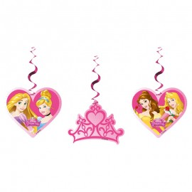 3 Colgantes de Princesas Dream Disney