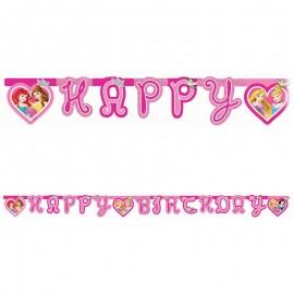 Grinalda Happy Birthday Princesas Disney