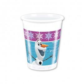 8 Copos Frozen Northern Light 200 ml