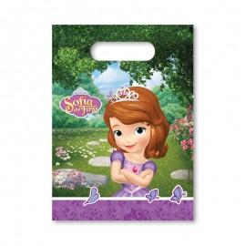 6 Sacos para Gomas Princesa Sofia