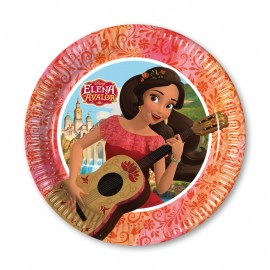 8 Pratos Elena de Avalor 20 cm