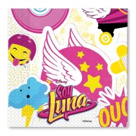 20 Guardanapos Soy Luna 33 cm
