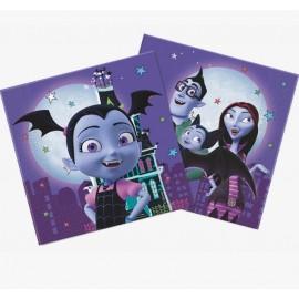Servilletas Vampirina de papel 33cm