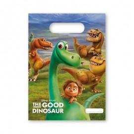 6 Sacos para Gomas Dinossauros