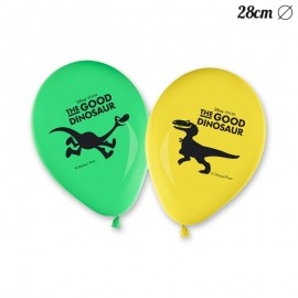 8 Balões de Dinossauros 28 cm