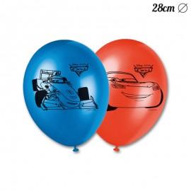 8 Balões de Cars 28 cm