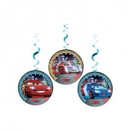 3 Decorativos Pendentes de Cars