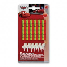 Pack de 12 Velas Cars