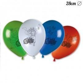 8 Balões de Os Vingadores 28 cm