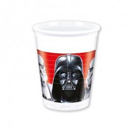 8 Copos Star Wars 200 ml