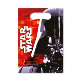 6 Sacos para Gomas Star Wars