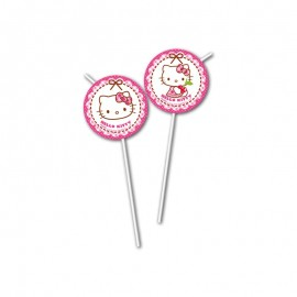 6 Palhinhas Hello Kitty