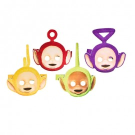 8 Máscaras Teletubbies