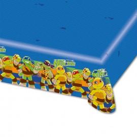 Toalha de Mesa de Plástico Tartarugas Ninjas 120 x 180 cm