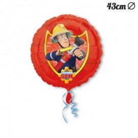 Balão Sam o Bombeiro Foil 43 cm