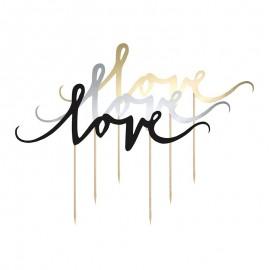 Topo Love para Bolos