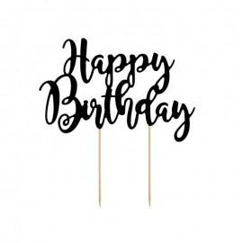 Topo para Bolos Happy Birthday