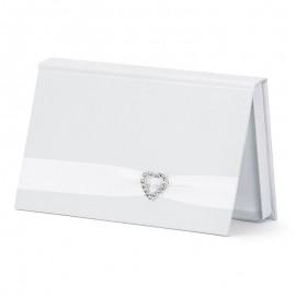 Envelope para Casamentos Branco Pérola