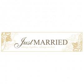 Registro Just Married Dourado