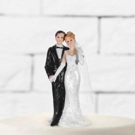 Figura de Noivos Recém Casados