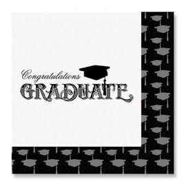 20 Guardanapos de Graduação