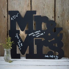 Letras para Casamento de Quadro Mr & Mrs