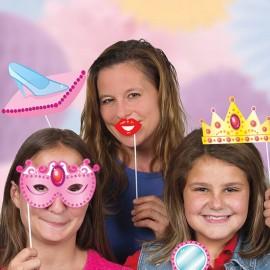 10 Acessórios para Photo Booth de Princesas