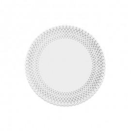 10 Bases de Papel Redondas 21 cm