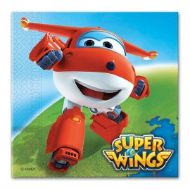 20 Guardanapos Super Wings 33 cm