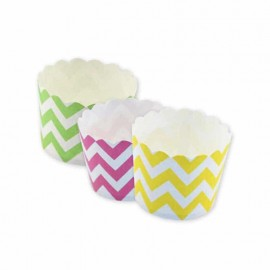 12 Formas para Cupcake Chevron