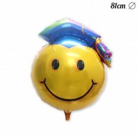 Balão Emoticome Graduação Foil 81 cm