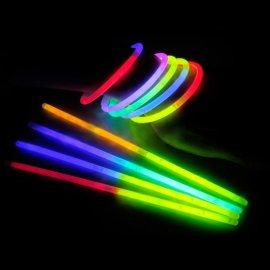 venta pulseras fluorescentes bicolor (100 uds)
