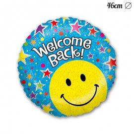 Globo Welcome Back Smile Foil Redondo 46 cm