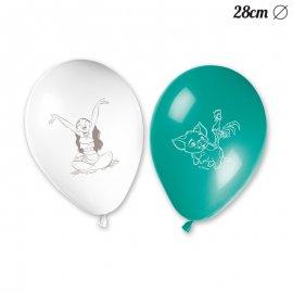 8 Balões de Vaiana 28 cm