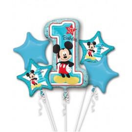 Bouquet de Globos Mickey 1st Birthday