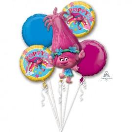 Buquê de balão Trolls